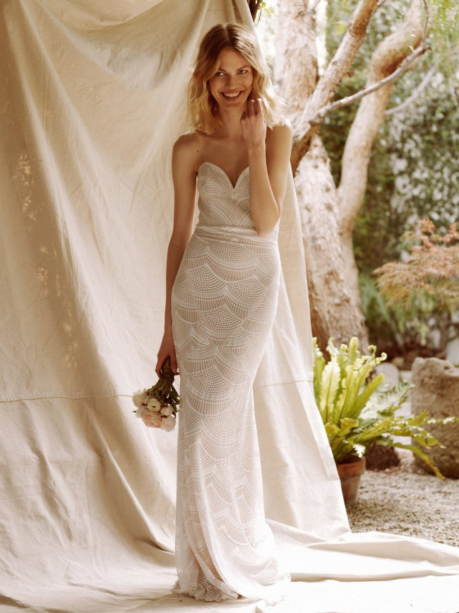 Stone Cold Fox New Wedding Dress on Sale 33% Off