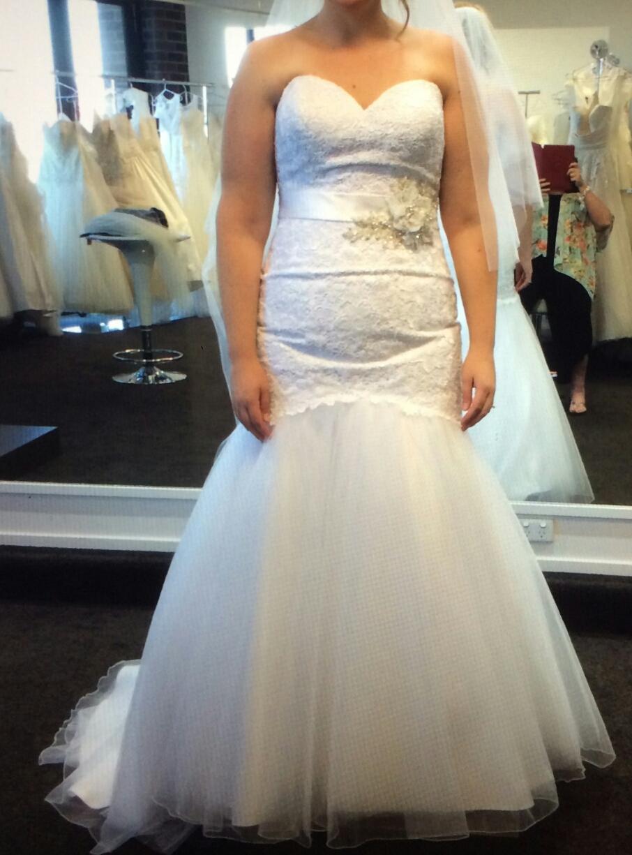 Trumpet second hand wedding dress on sale 56 off for Second hand wedding dresses san diego