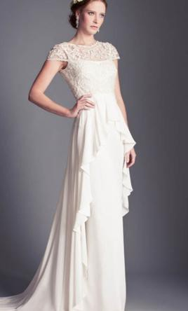Temperley london bluebell pre owned wedding dress on sale for Temperley london wedding dress sale