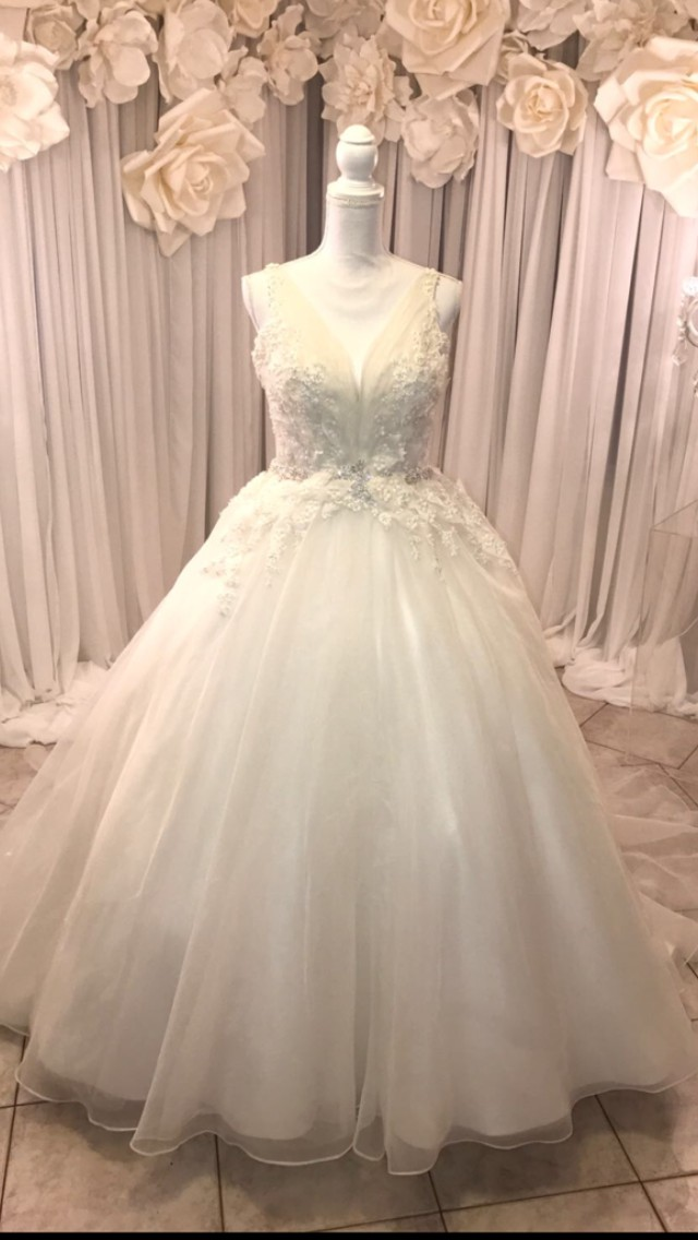 Ball Gown Preowned Wedding Dress on Sale 64% Off - Stillwhite