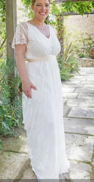 Charlie Brear Payton Silk Slip Dress Amp Voulaire Lace