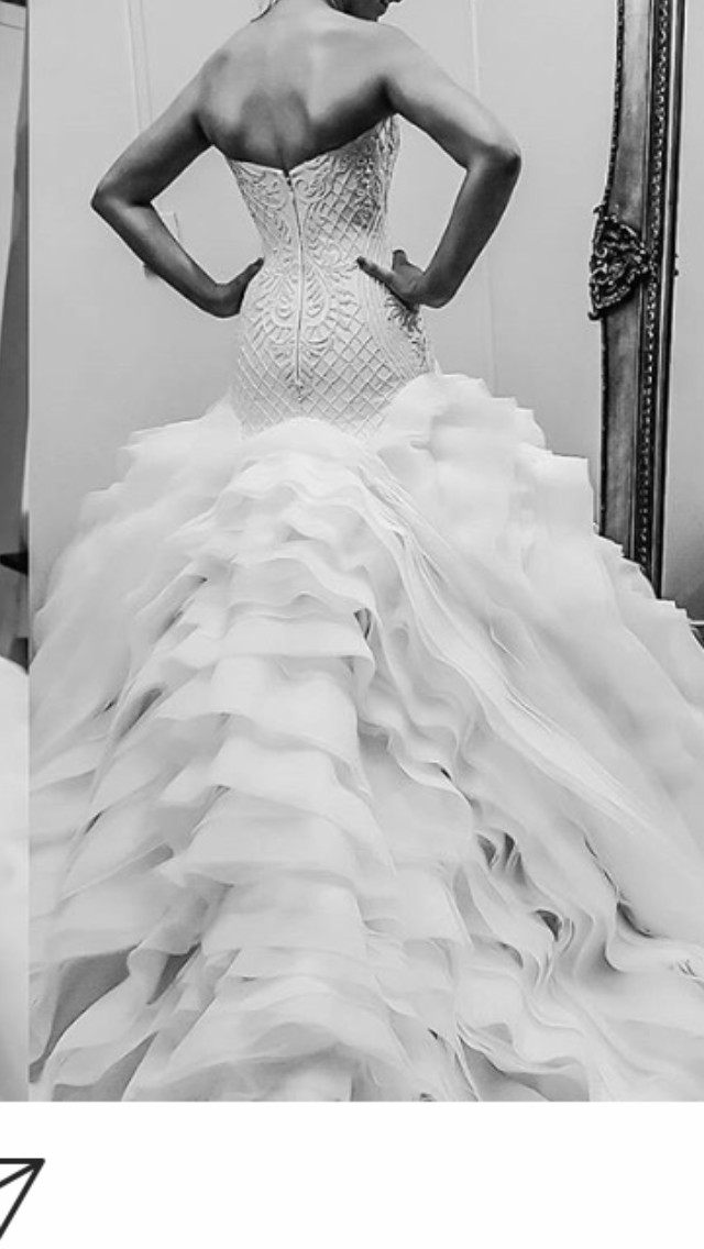 ce209636c4b Zian Couture Custom Made Preloved Wedding Dress on Sale 30% Off - Stillwhite  Australia