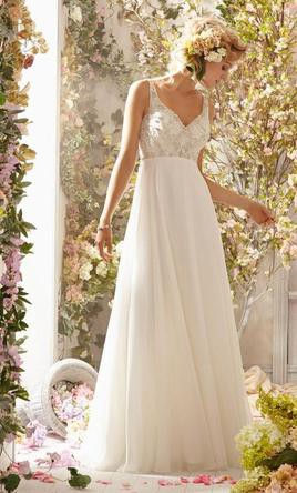 Morilee 6771 second hand wedding dress on sale for Second hand mori lee wedding dresses