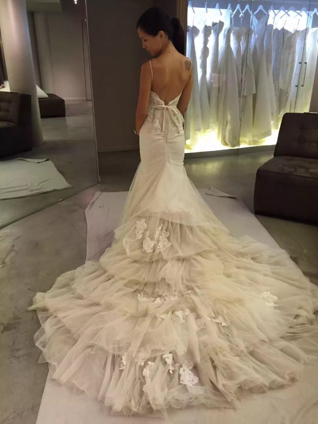 Inbal dror br14 02 used wedding dress on sale 61 off for Inbal dror used wedding dress