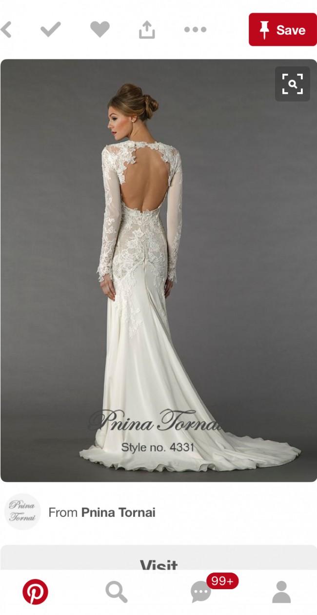 Pnina tornai 4331 sample wedding dress on sale 76 off pnina tornai 4331 junglespirit Images