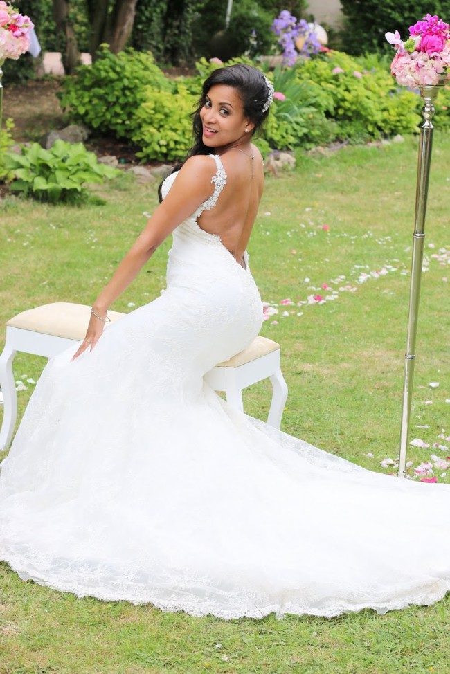 Demetrios Modell C203/Kollektion Couture 2015 Pre-Owned Wedding ...