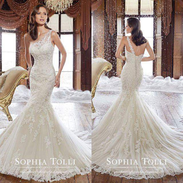 Cost Of Sophia Tolli Wedding Gowns: Sophia Tolli Rory 21051 New Wedding Dress On Sale 39% Off