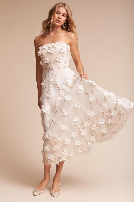 35 midi length wedding dresses for Midi length wedding dress