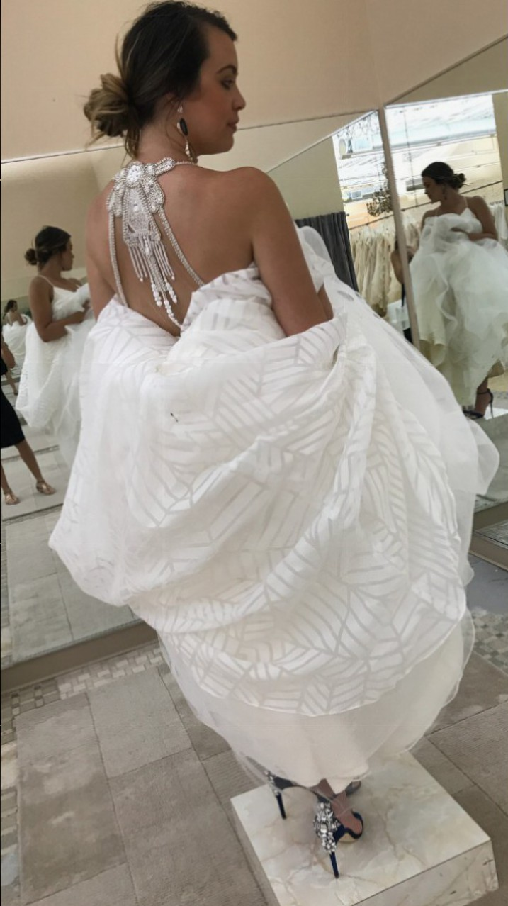Hayley paige wedding dresses on still white hayley paige new ombrellifo Image collections