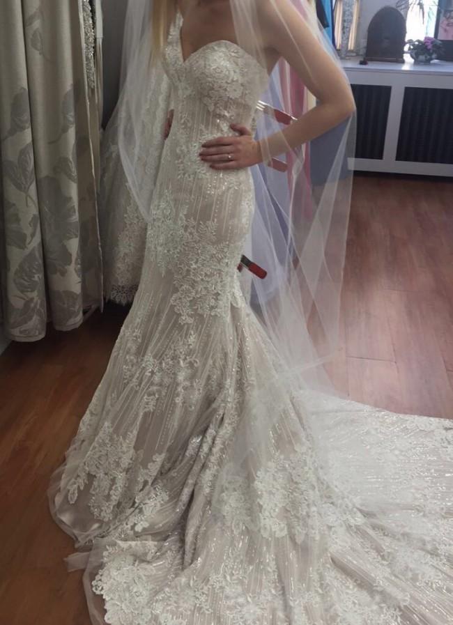 Allure Bridals 9350 New Wedding Dress on Sale 57% Off