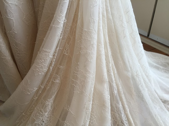 Pure magnolia couture organic cotton sustainably sourced for Organic cotton wedding dress