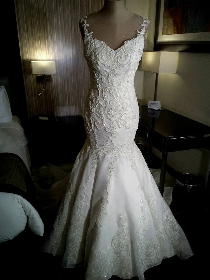 Richie bondoc custom made second hand wedding dress on sale for Where can i sell my wedding dress locally