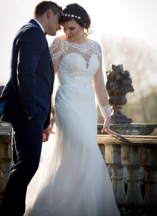 Maggie Sottero Vaughn PreOwned Wedding Dress on Sale 51% Off