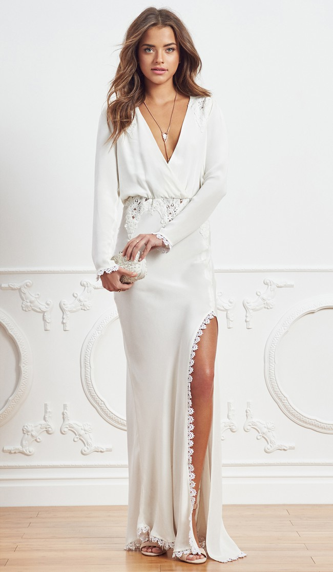 Stone Cold Fox Bianka New Wedding Dress on Sale 50% Off