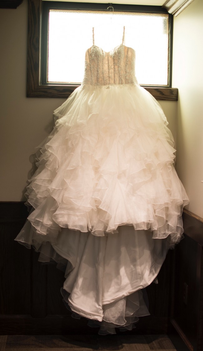 717878c1840ba Oleg Cassini CWG568 Used Wedding Dress on Sale 61% Off - Stillwhite ...