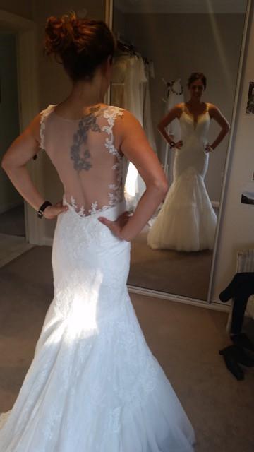 Made with love asha sample wedding dress on sale 50 off for Made with love wedding dresses