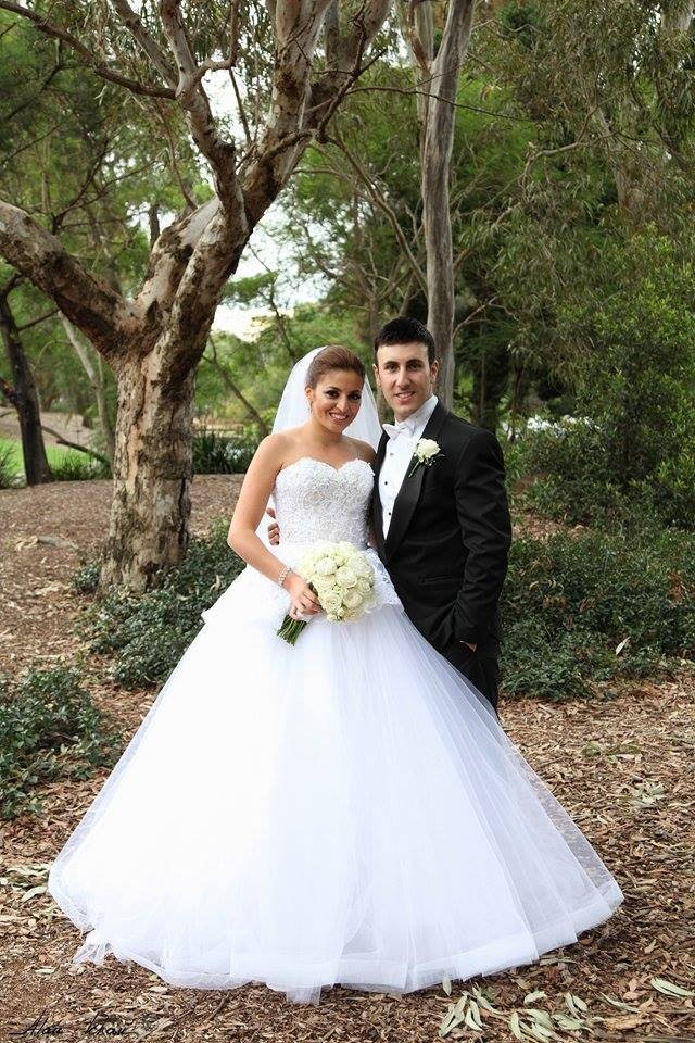 suzanna blazevic ball gown second hand wedding dresses