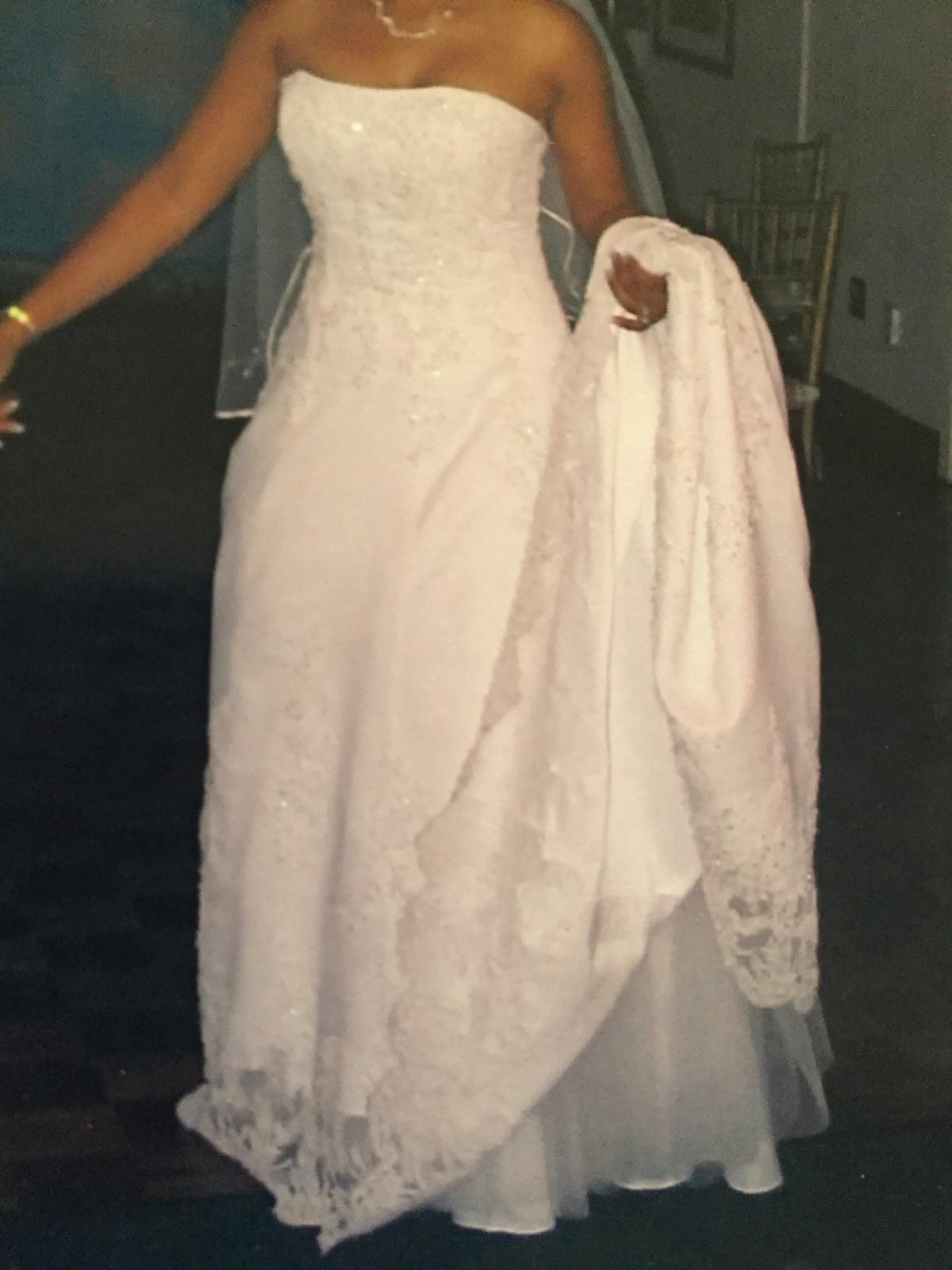 Michaelangelo v8377 second hand wedding dress on sale 46 off for Second hand wedding dresses london