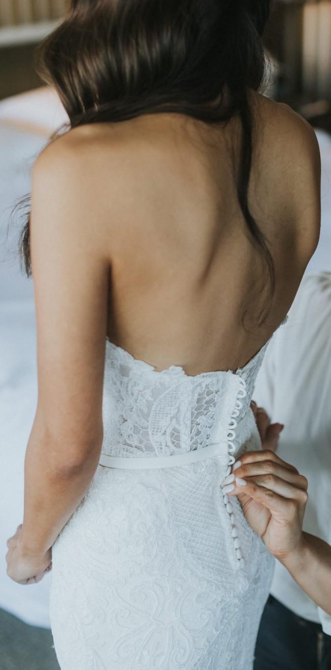 Amarige Bridal Couture Custom Made Used Wedding Dress on Sale 46% Off