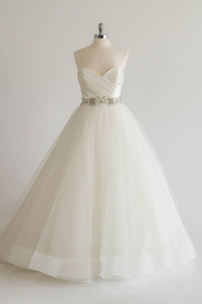 Tara Keely, Ivory Sparkle Tulle Ball gown 2457