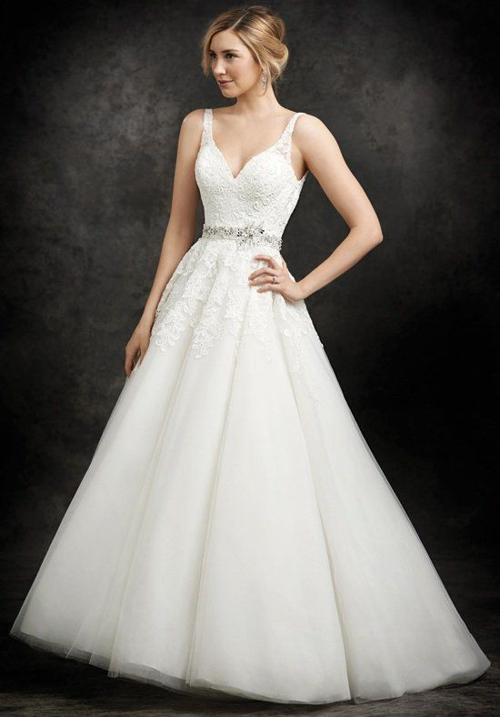 Ella Rosa Be237 Sample Wedding Dress on Sale 60% Off