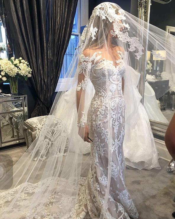 Steven khalil pre owned wedding dress on sale 48 off for Steven khalil wedding dresses cost