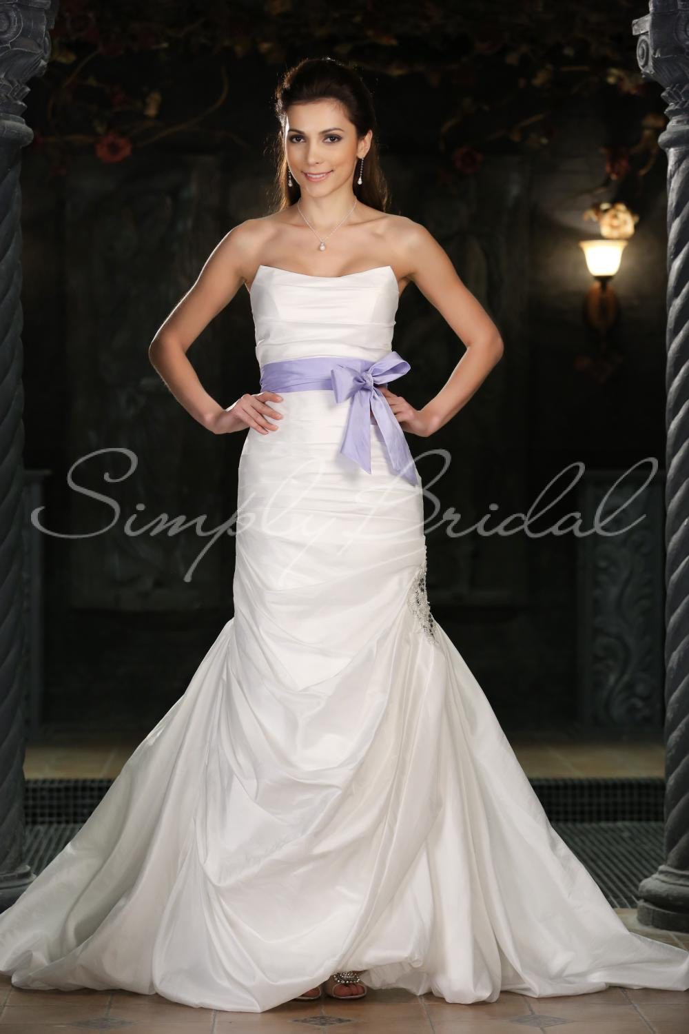 Simply bridal delilah new wedding dress on sale 42 off for Simply white wedding dresses