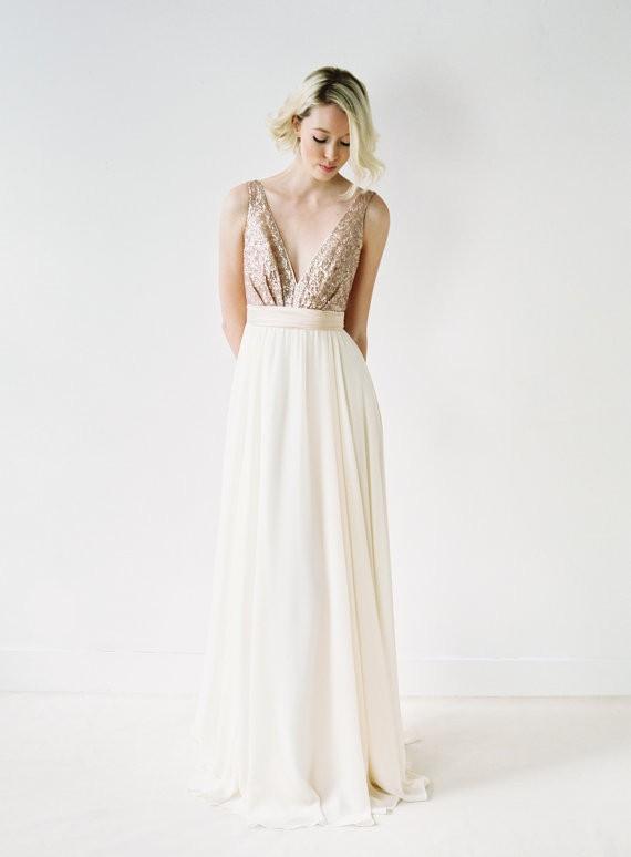 Glitz And Glam 34 Sequin Wedding Dresses