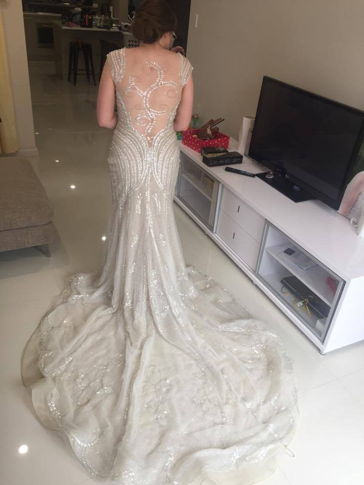 Manuel mota second hand wedding dress on sale for Second hand wedding dresses for sale