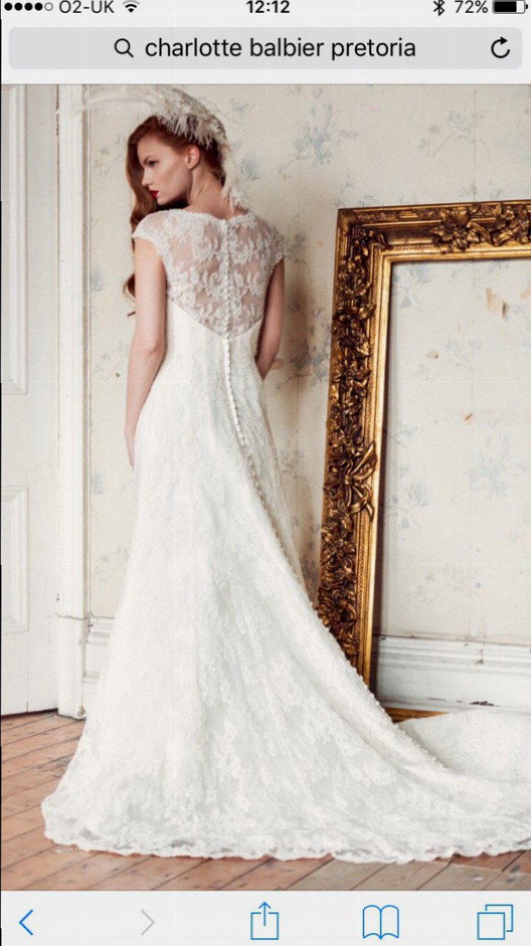 Charlotte balbier pretoria second hand wedding dress on for Second hand wedding dresses for sale