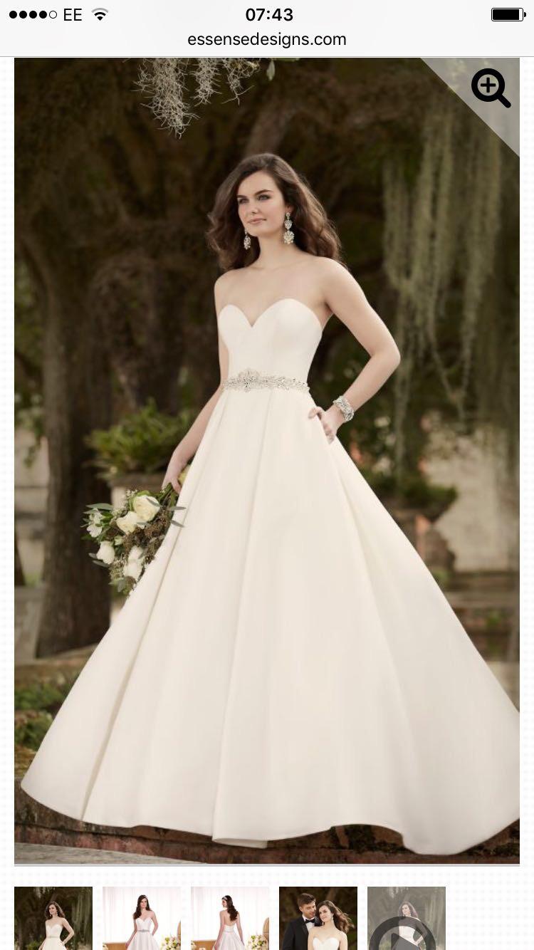 Essense of Australia D1875 - New Wedding Dresses - Stillwhite