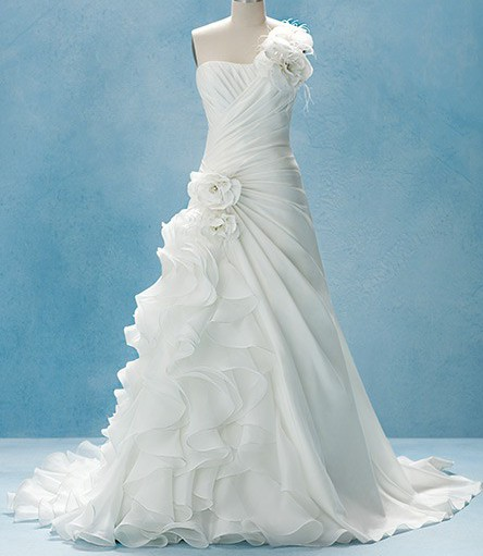 Alfred Angelo Wedding Dress: Alfred Angelo Ariel Style 210