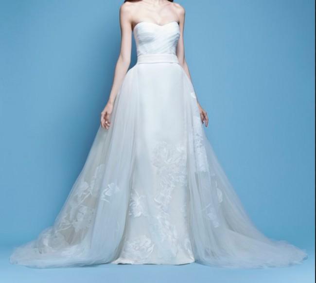 Carolina Herrera Josefina Used Wedding Dress on Sale 60% Off ...