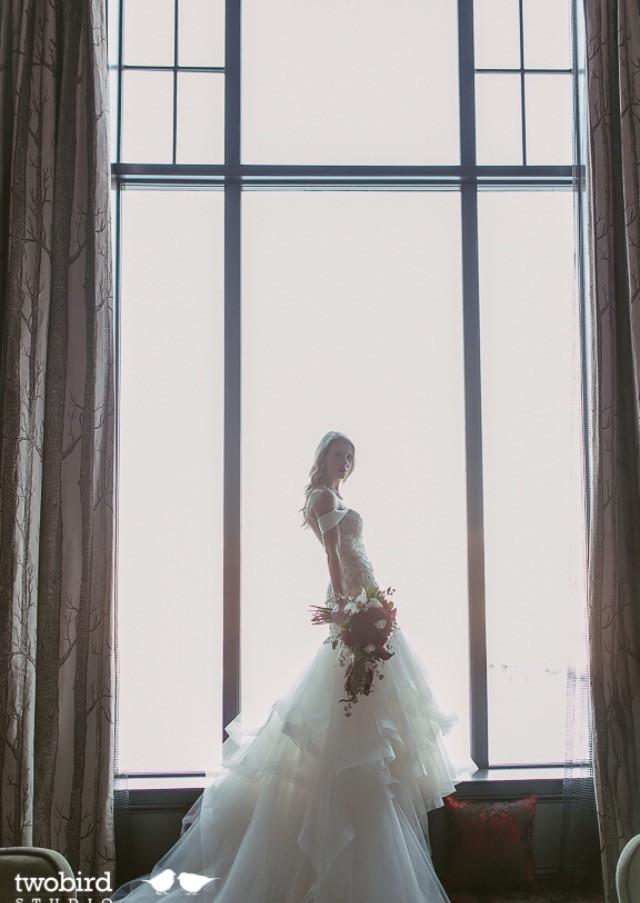 Casablanca Custom Made Wedding Dress On Sale 57 Off