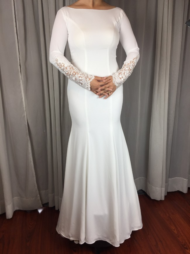 05588812942 Ida Torez Custom Made New Wedding Dress on Sale 29% Off
