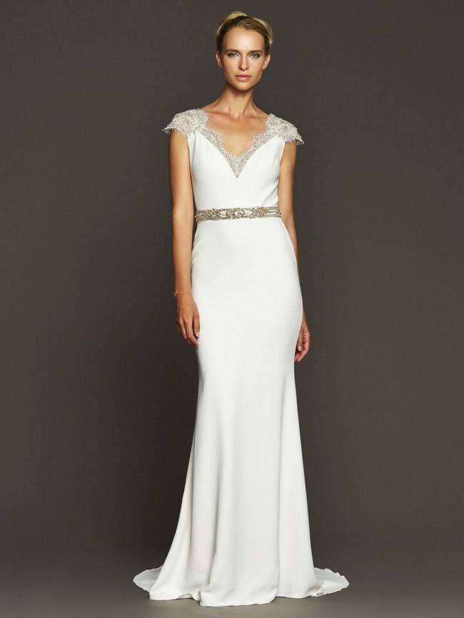 Badgley Mischka Fonda New Wedding Dress on Sale 60% Off - Stillwhite