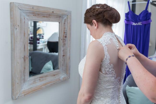 Justin Alexander 8822 Ebony Rose - Used Wedding Dresses - Stillwhite