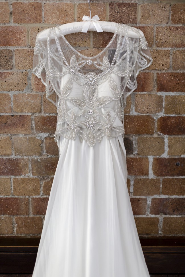 Anna campbell adelaide slimline chiffon second hand for Anna campbell wedding dress for sale