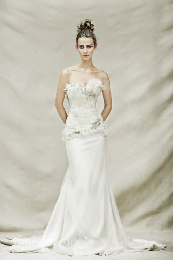 Pallas Couture Odette Wedding Dress On Sale 80 Off