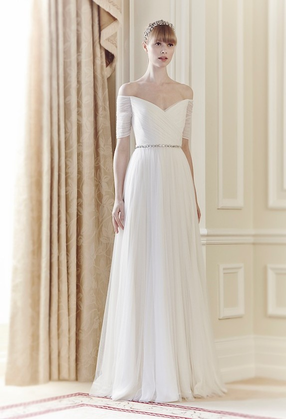 Jenny Packham Belle Sample Wedding Dress On Sale 60 Off