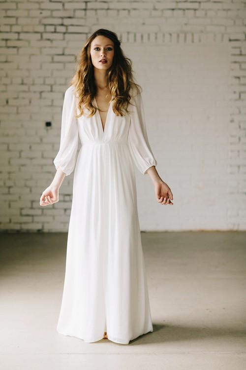 Elizabeth Dye Dunaway Wedding Dress on Sale 61% Off