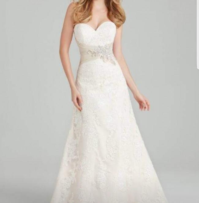 Allure romance used wedding dresses stillwhite allure romance trumpet junglespirit Choice Image