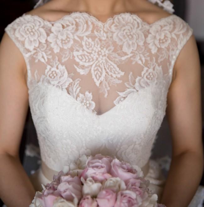 White Wedding Gown Hydrangea: Steven Khalil Hydrangea Wedding Dress On Sale 64% Off