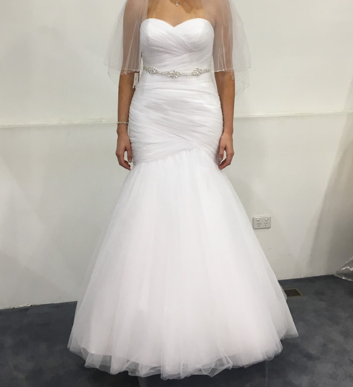 Morilee 5108 second hand wedding dress on sale 70 off for Second hand mori lee wedding dresses
