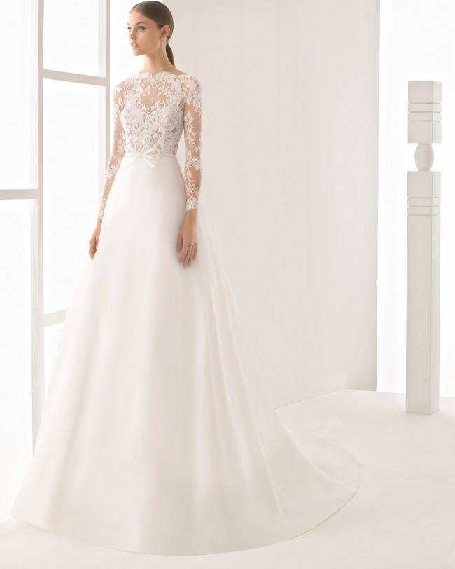 Свадебные платья длинные а силуэта