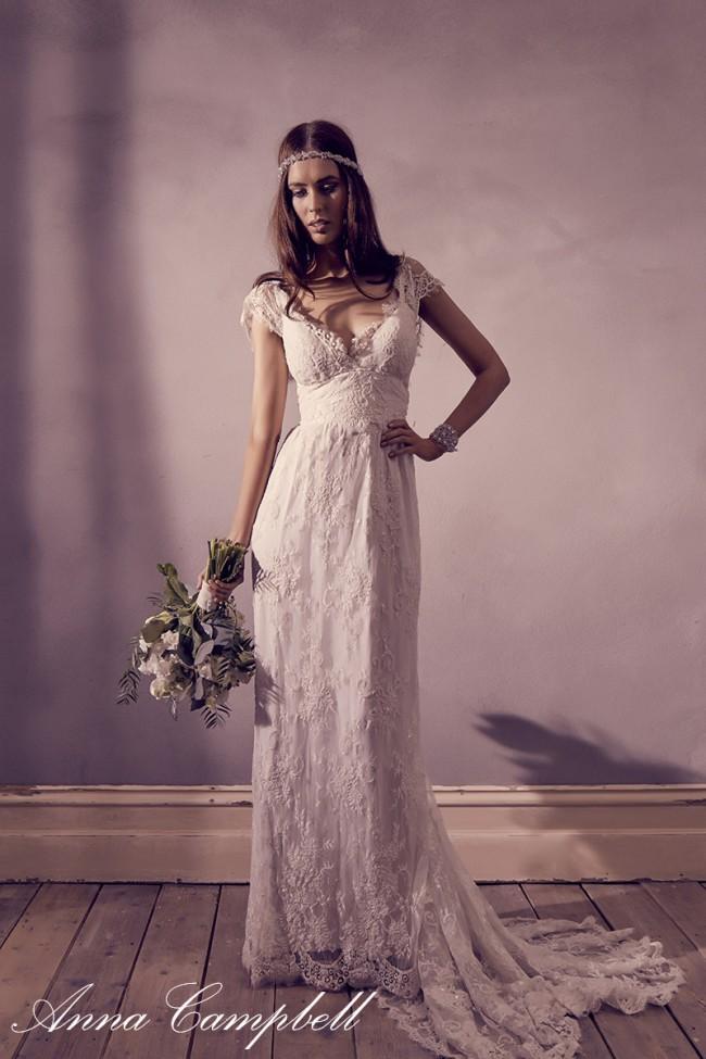 Anna Campbell Eloise Sample Wedding Dress on Sale 52% Off - Stillwhite