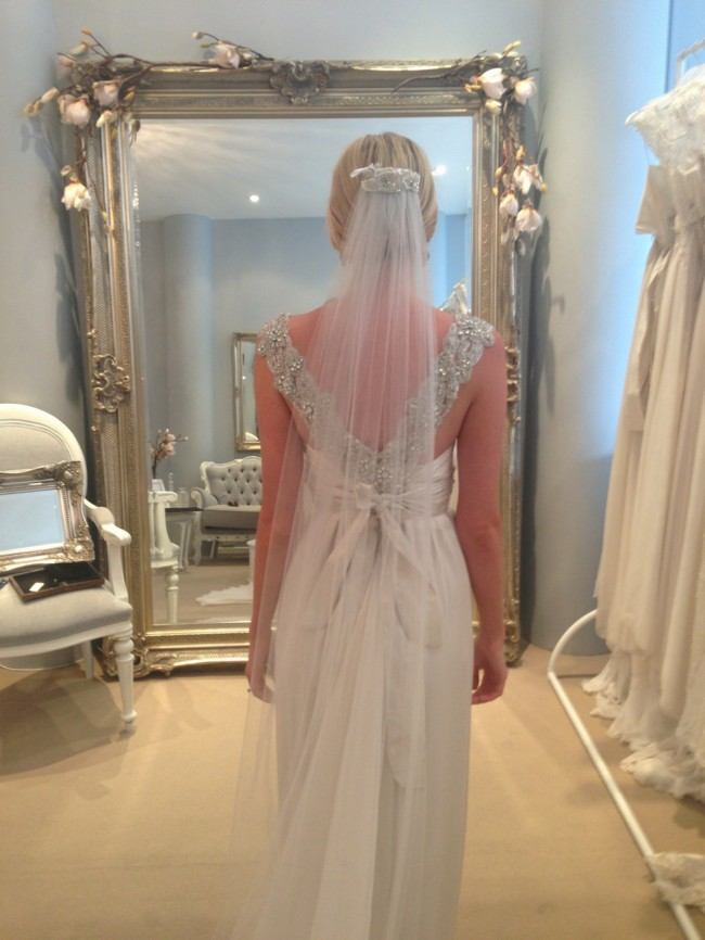 ab070d7c79a Anna Campbell Gossamer Collection Made To Measure Preloved Wedding ...
