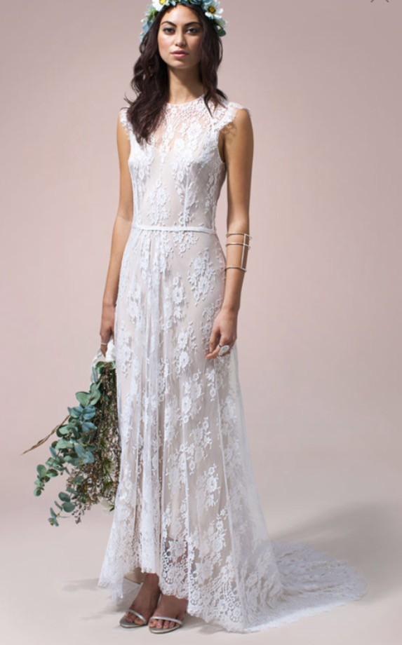 Rue De Seine Ivy Used Wedding Dress On Sale 48 Off