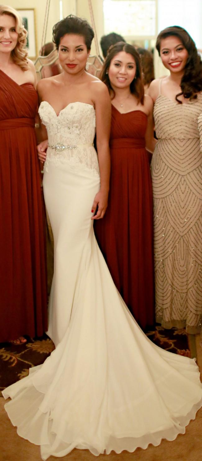 Marisa 118 PreOwned Wedding Dress on Sale 70% Off