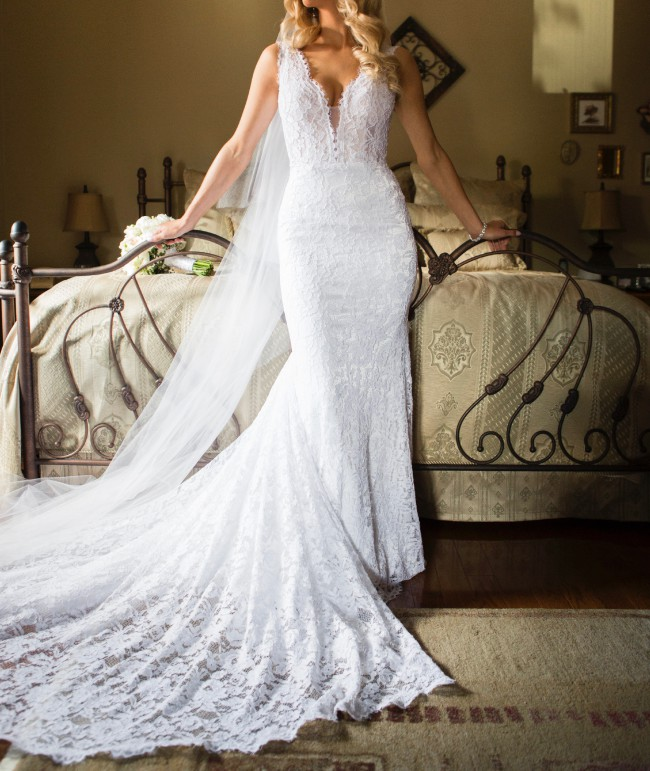 Pnina Tornai 4372 Second Hand Wedding Dress On Sale 59